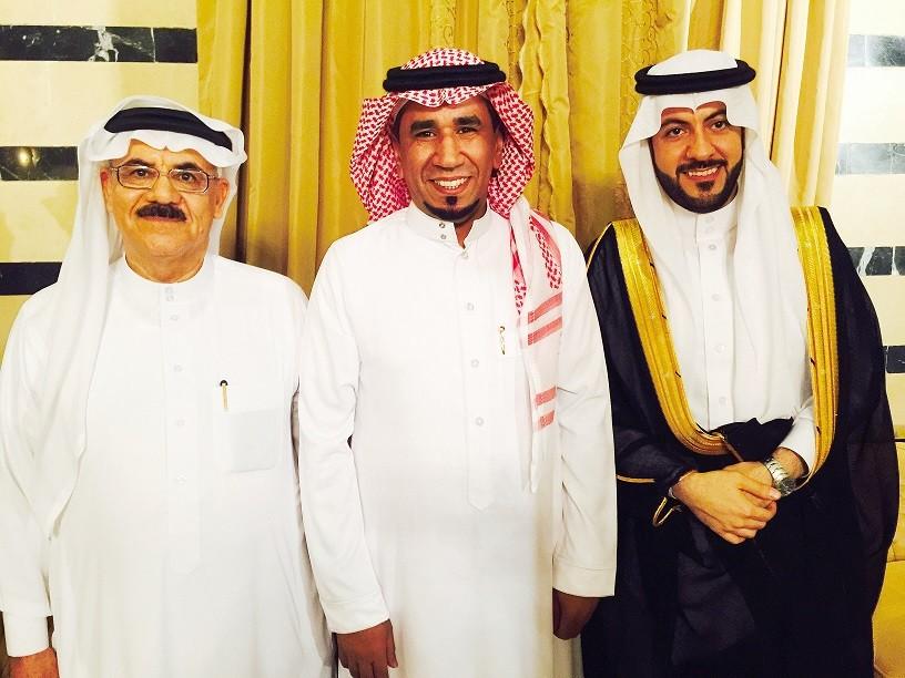 صورة المخرج سمعان العاني يحتفل بزواج نجله جمال مع الفنانين والإعلاميين