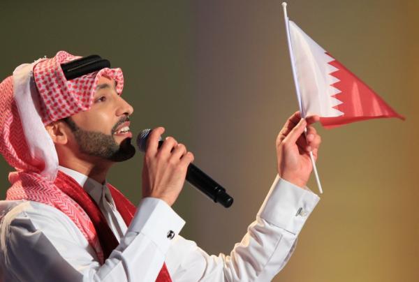 """Photo of فهد الكبيسي يسجل اغنية لـ """" قطر """" بمناسبة اليوم الوطني"""