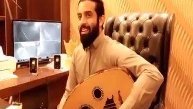 صورة محمد بن سعيد يسطو على اغنية اعاني ويهديها ل #عبدالعزيز_بغلف