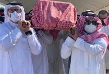 صورة جنازة والدة راشد الماجد .. الحزن يخيم على الوسط الفني