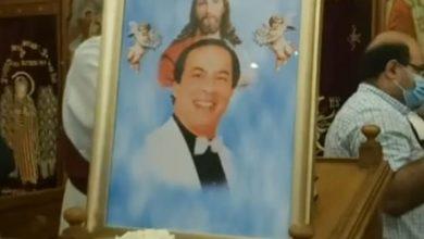صورة تشييع جنازة المنتصر بالله من كنيسية ابوسيفين