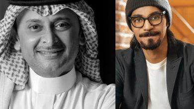 """صورة رابح صقر """" يتمشكل """" مع عبدالمجيد عبدالله"""