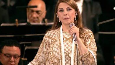 صورة ماجدة الرومي تبكي في حفل قصر القبه