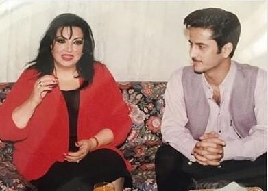 صورة سميرة توفيق بحزن وأسى : معقوله سعود مات ؟