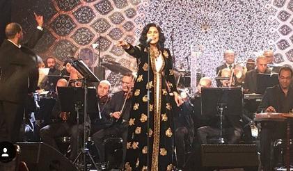 صورة أحلام تطلق ألبومها رسمياً من القاهرة بحضور ناصر الصالح