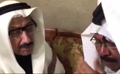 """صورة فيديو مؤثر .. مبارك الحديبي يبكي في لقاء """" شادي الخليج """""""