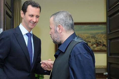 """صورة جورج وسوف يصدم جمهوره ويقول : """" لاصحة لمرض بشار الأسد """""""