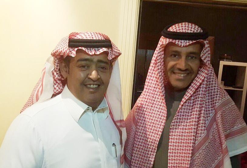 """Photo of """" البيرق """" جديد خالد عبدالرحمن مع سامي الخليفه"""