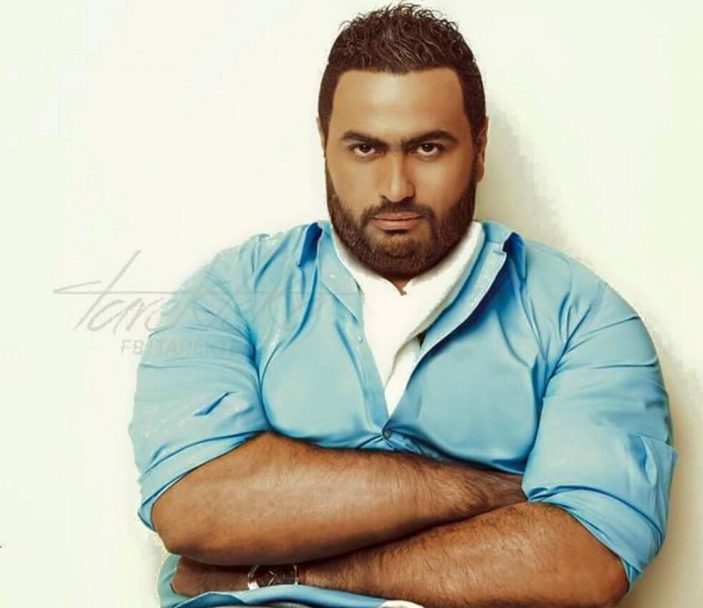 صورة تامر حسني وزنه الآن ١٢٠ كيلو .. شاهد الصوره