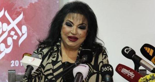 """صورة سميرة توفيق """" تسحب """" أغانيها من ديانا حداد !"""