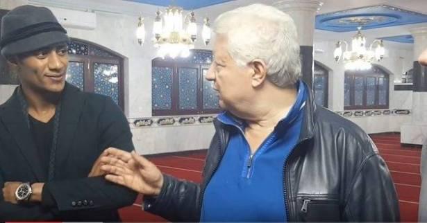 Photo of محمد رمضان يرضخ لمرتضى منصور ويزوره في النادي لينهي الخلاف !